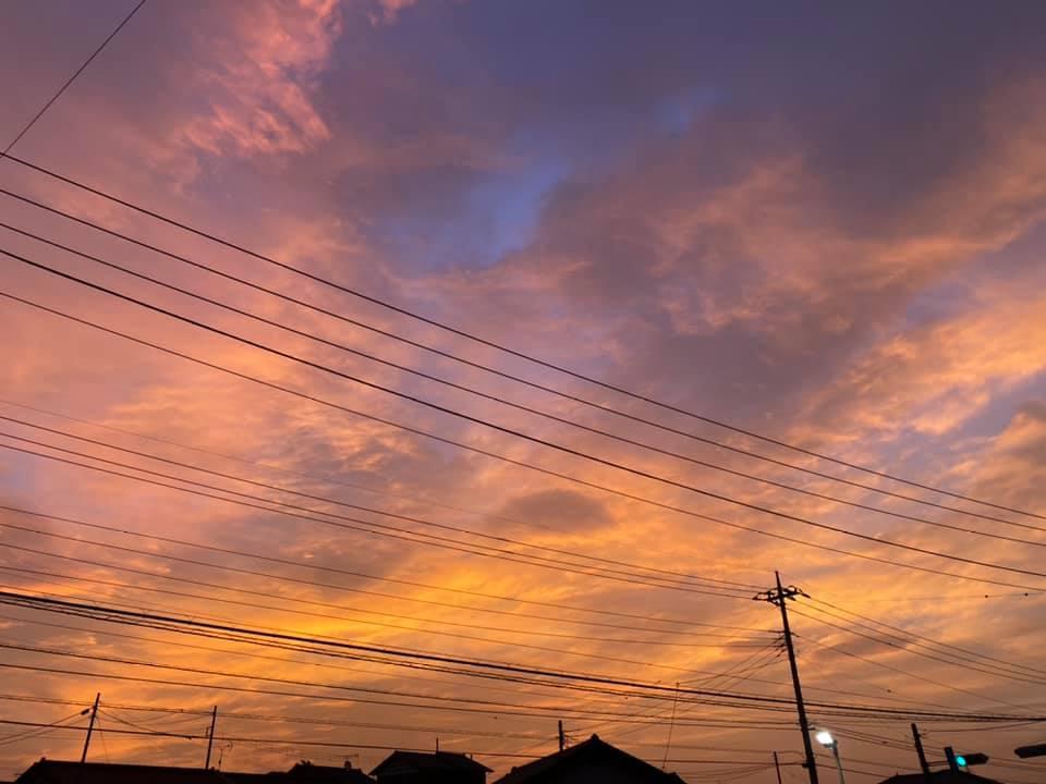 軽井沢の空