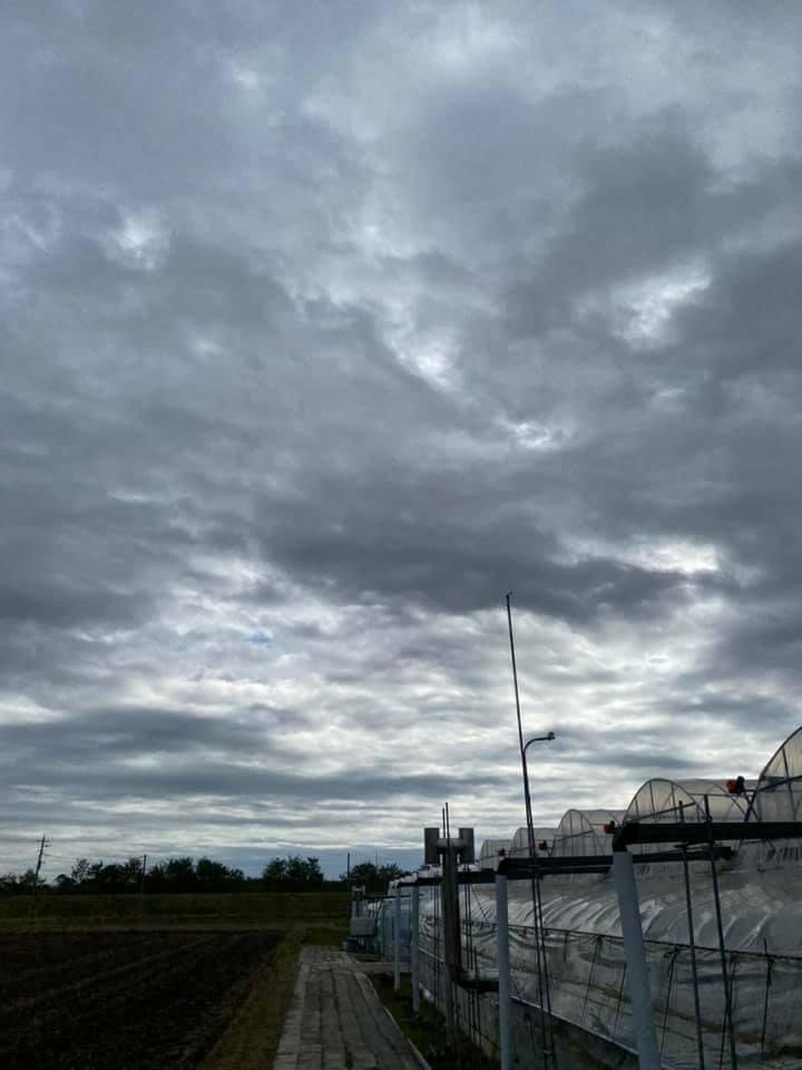 気温17℃ 曇り